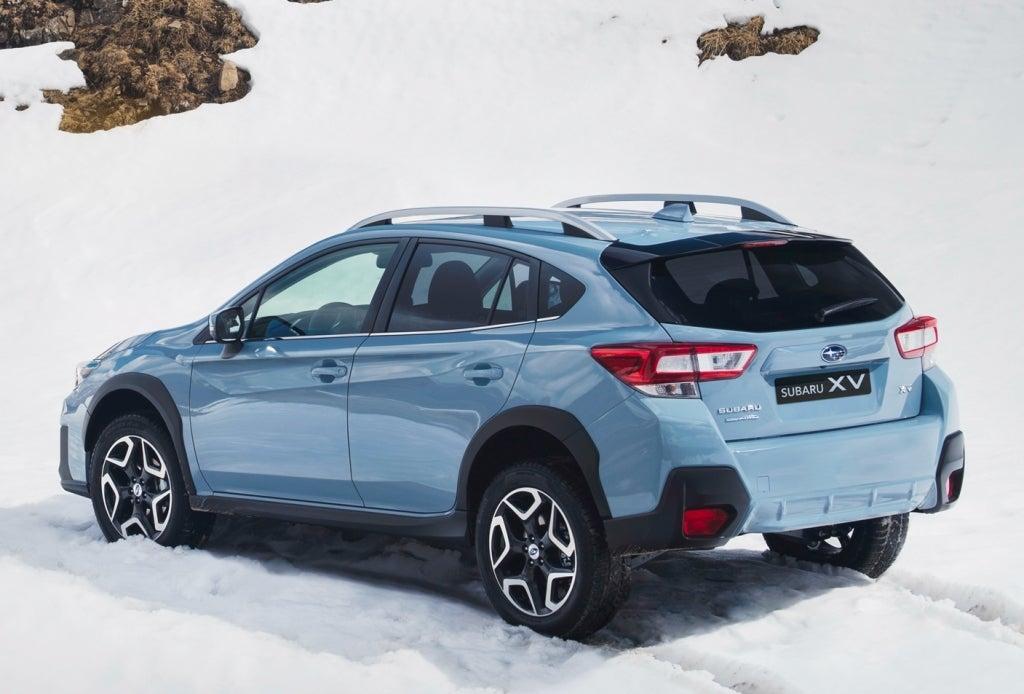 Subaru XV: trasera