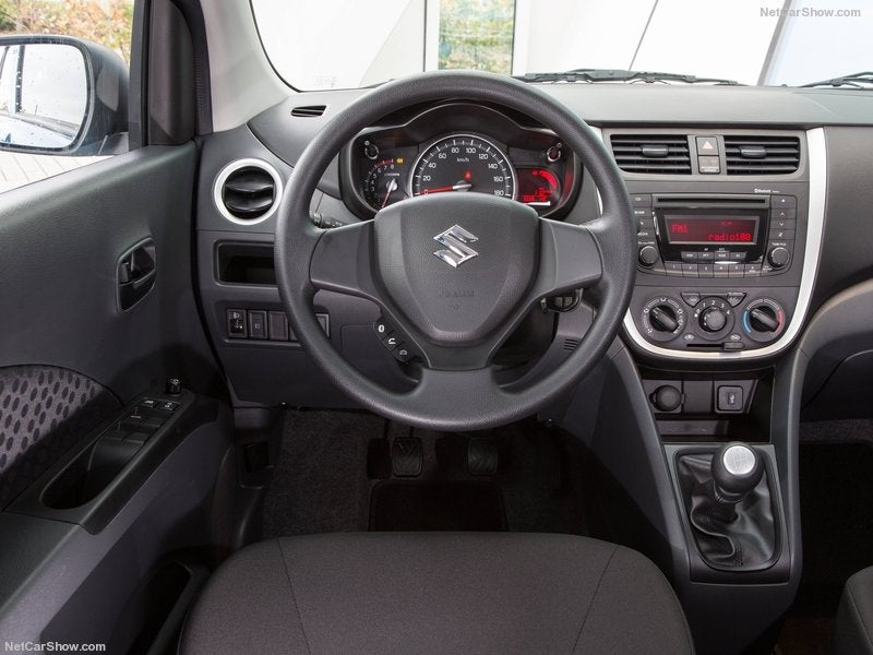 Suzuki Celerio: interior