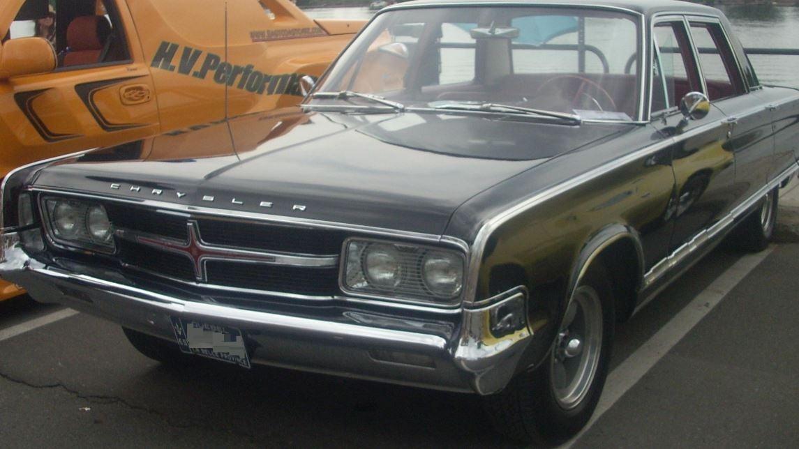 Vehículo Chrysler.