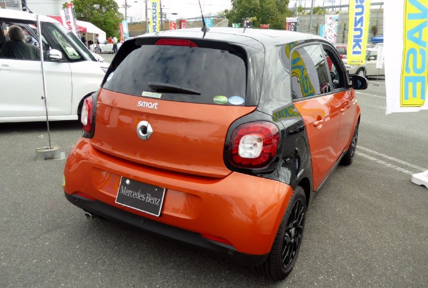 Actual Smart Forfour.