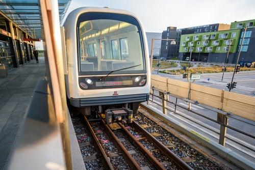 China: metro sin conductor