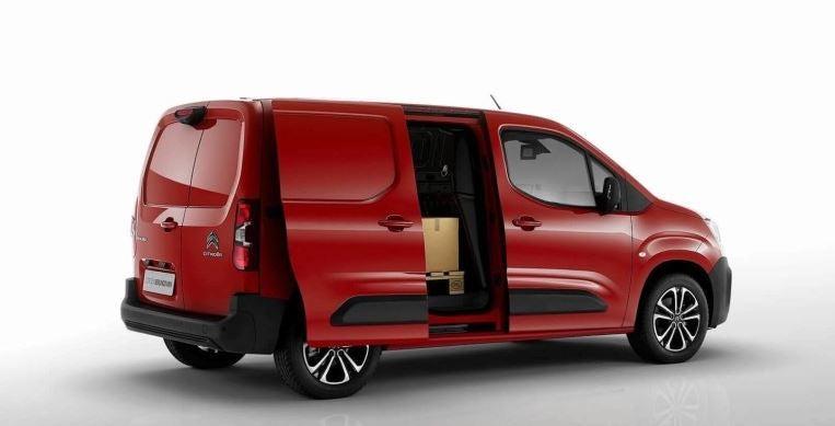 Citroën Berlingo Van 2018 espacio de carga.