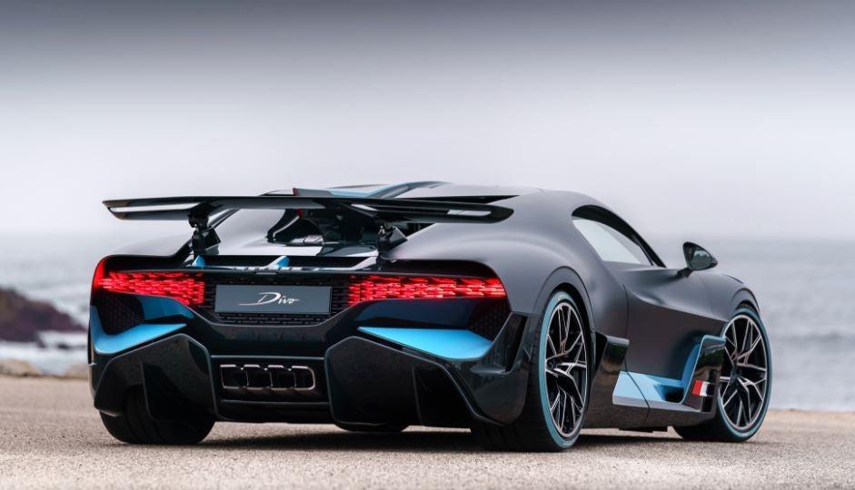 Diseño del Bugatti Divo.
