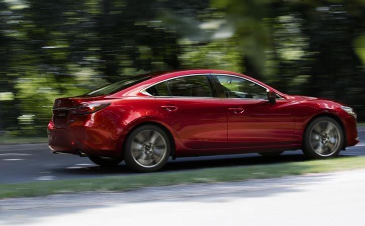 Diseño del nuevo Mazda 6 2018.