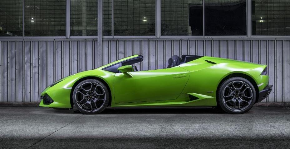Diseño del Lamborghini Huracán.