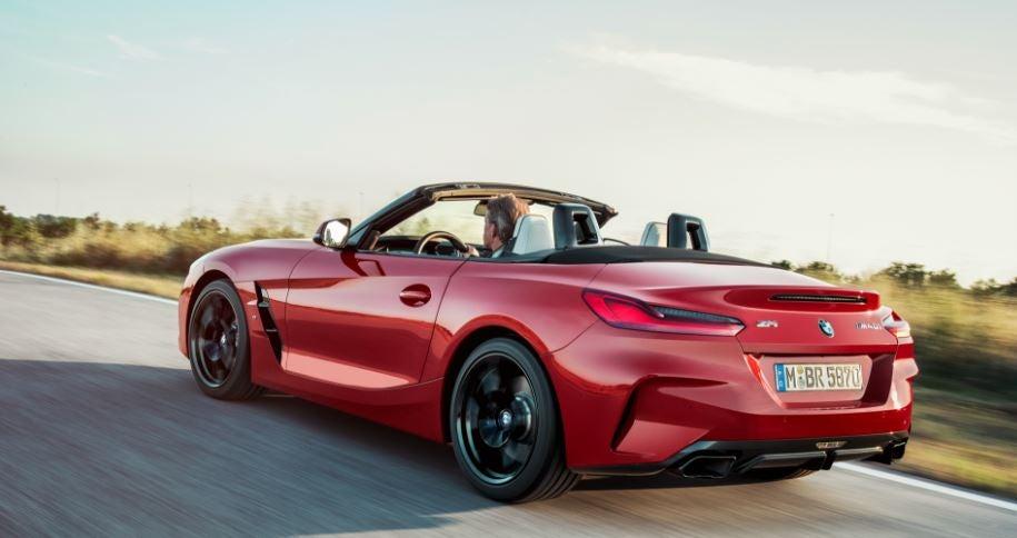 Diseño del nuevo BMW Z4.