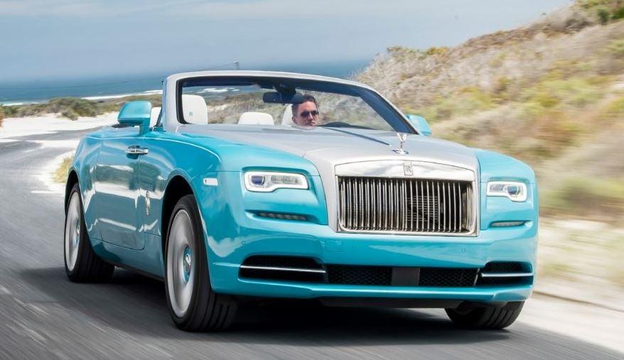 Diseño del Rolls-Royce Dawn.