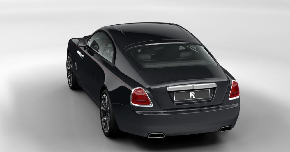 Exterior de Rolls-Royce Wraith.