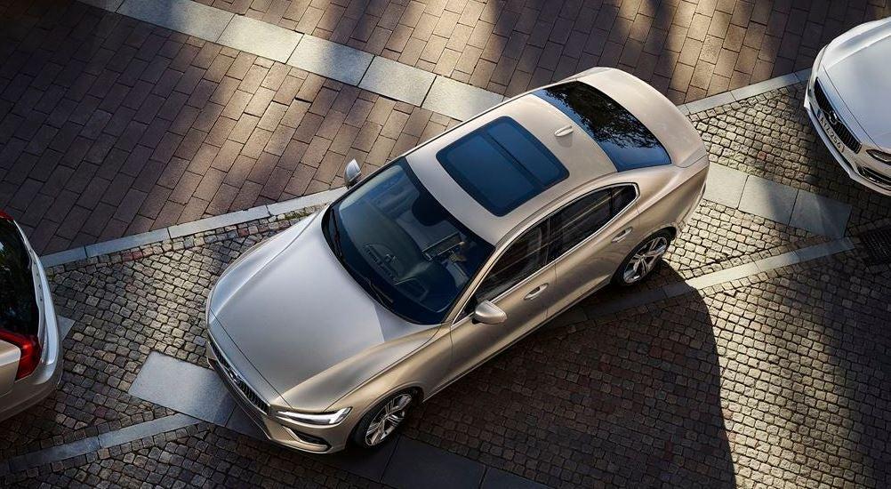 Exterior del nuevo Volvo S60.