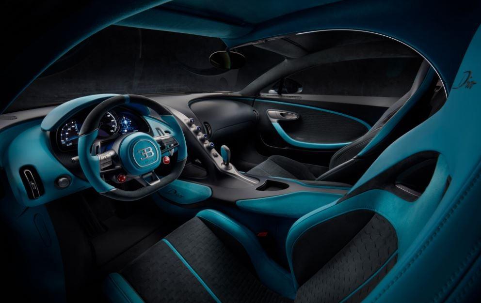 Interior del Bugatti Divo.