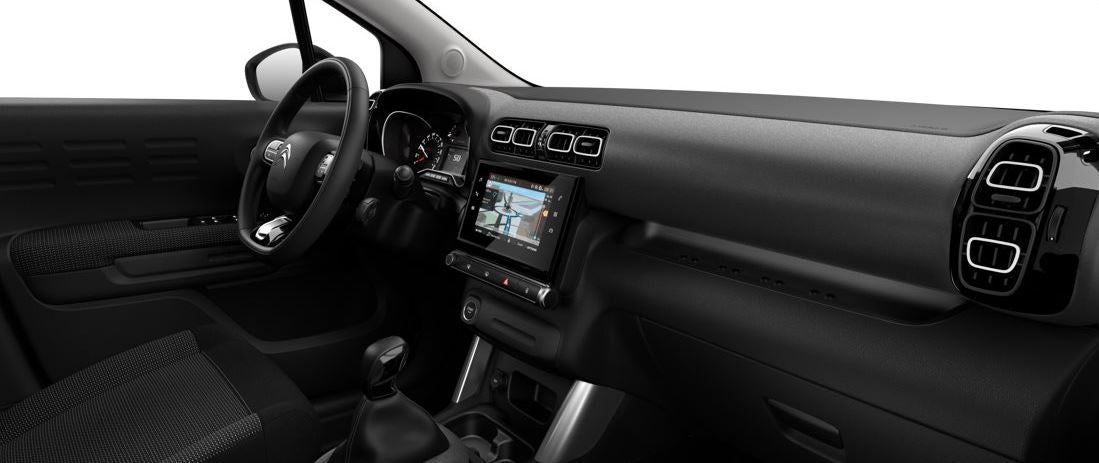 Interior del Citroën C3 Aircross 2018.