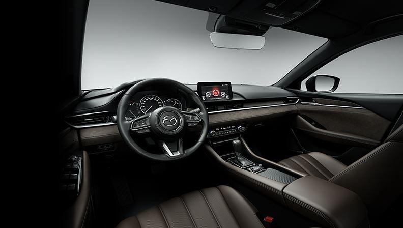 Interior del nuevo Mazda 6 2018.