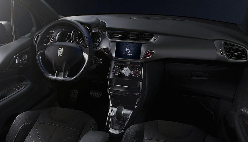 Interior del DS 3 Cabrio.