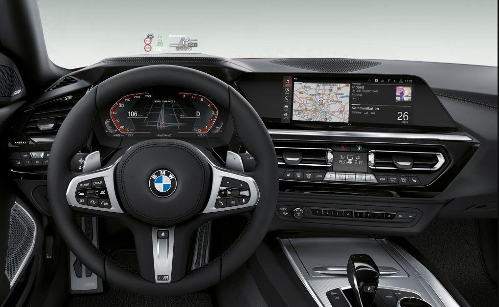 Interior del nuevo BMW Z4.