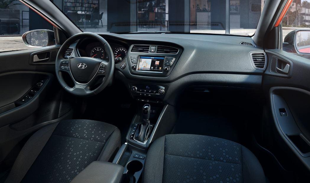 Interior del nuevo Hyundai i20 de 2018.