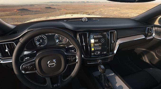 Interior del nuevo Volvo S60.