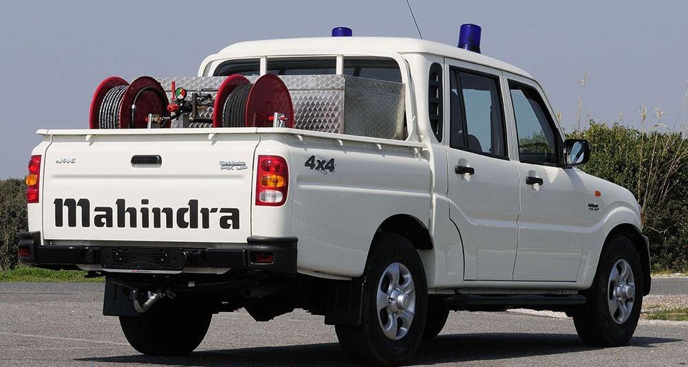 Mahindra Goa Doble Cabina para trabajar.