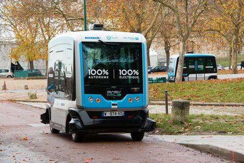 Minibus autónomo