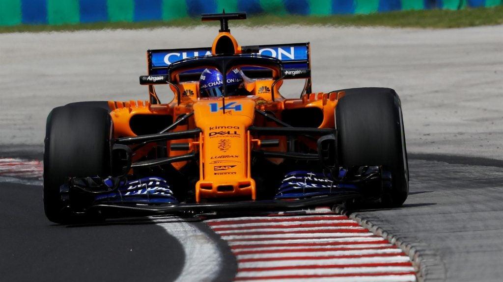 Mundial de Fórmula 1: McLaren de Alonso