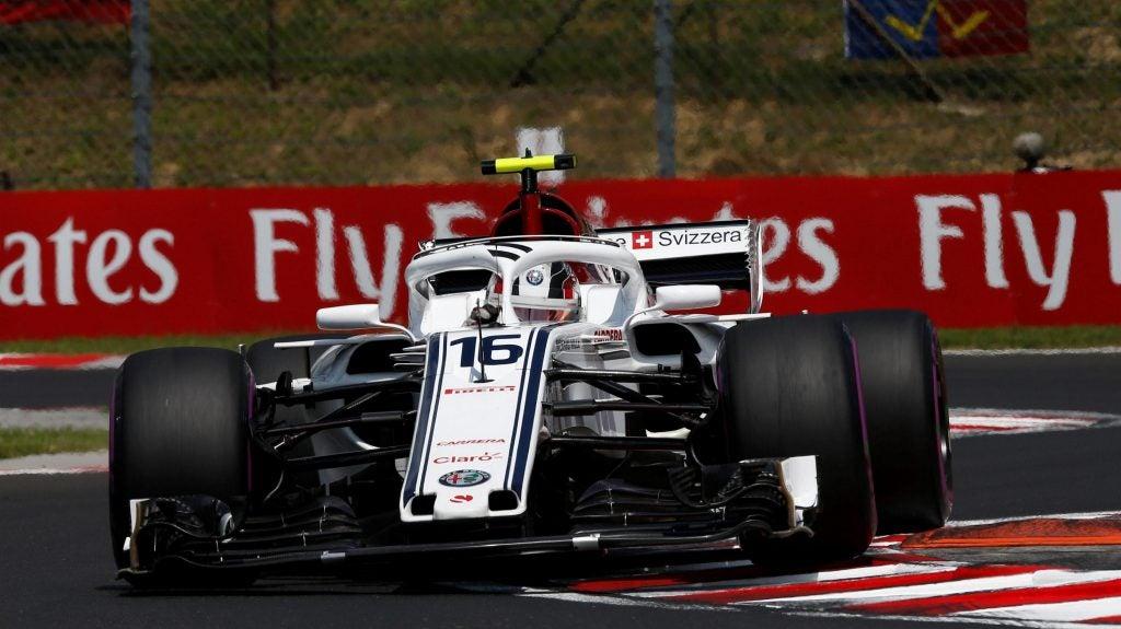 Mundial de Fórmula 1: Sauber de Leclerc