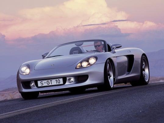 Porsche Carrera GT: frontal