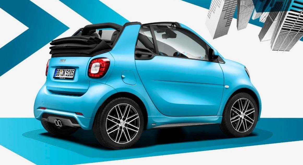 Smart Fortwo Cabrio.