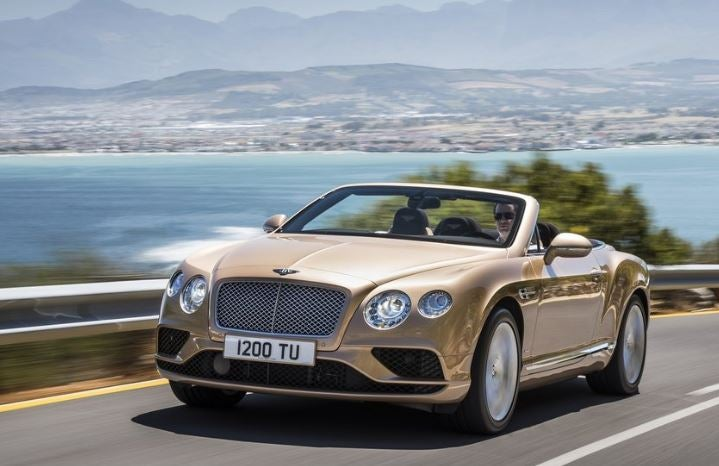 Bentley Continental GT Convertible, exclusivo