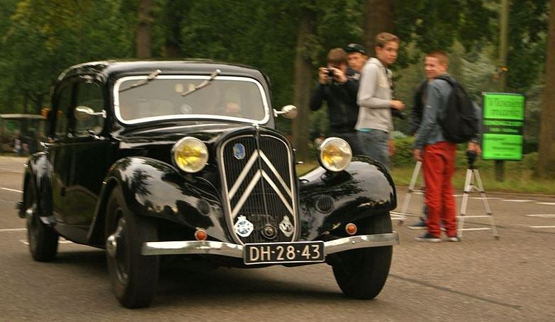 Citroën Traction Avant.