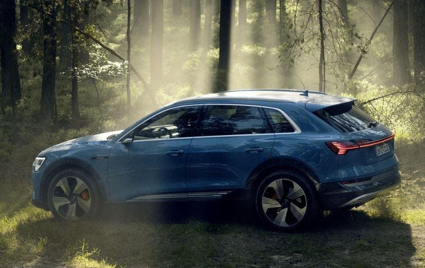 Diseño del Audi e-Tron.