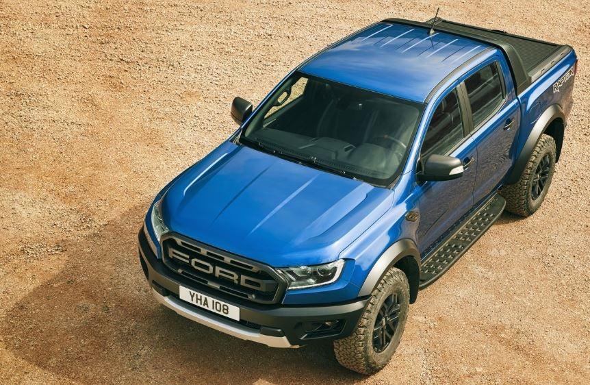 Diseño del Ford Ranger Raptor.