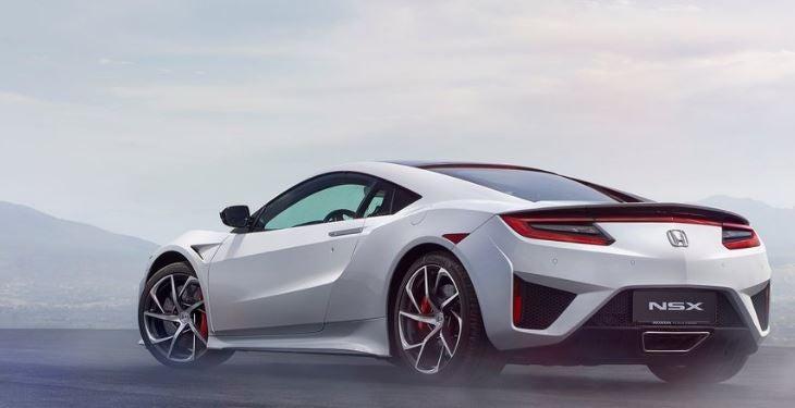 Diseño del Honda NSX.