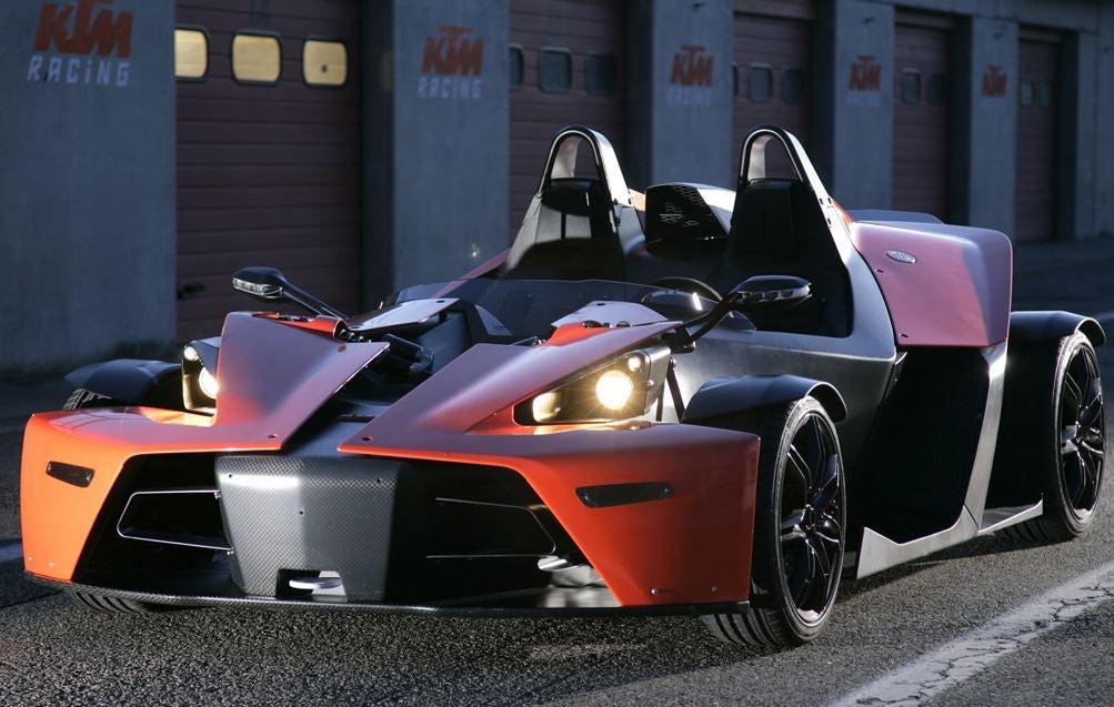 Diseño del KTM X Bow.