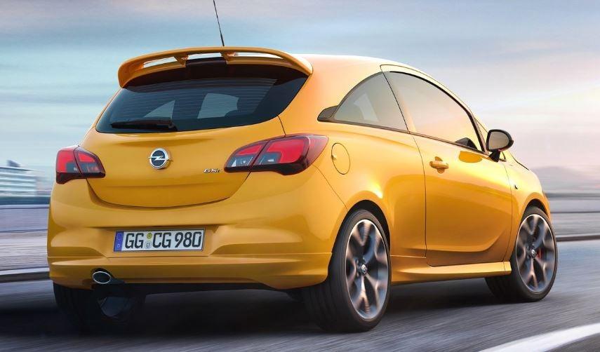 Diseño del nuevo Opel Corsa GSi 2018.