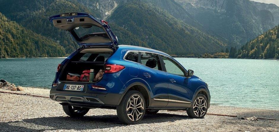 Diseño del nuevo Renault Kadjar.