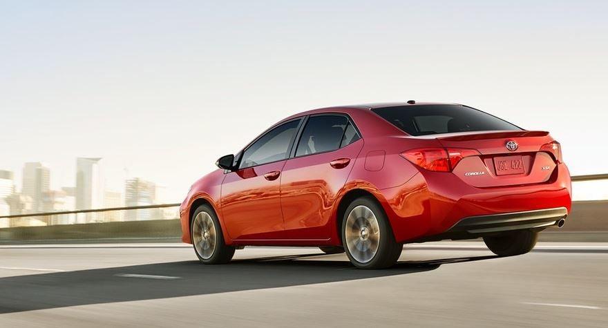 Diseño del nuevo Toyota Corolla.