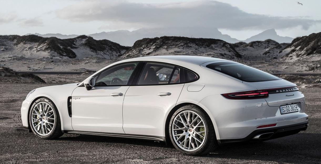 Diseño del Porsche Panamera E Hybrid.