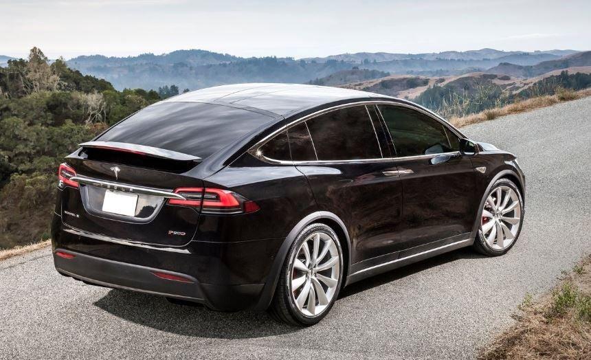 Diseño del Tesla Model X.