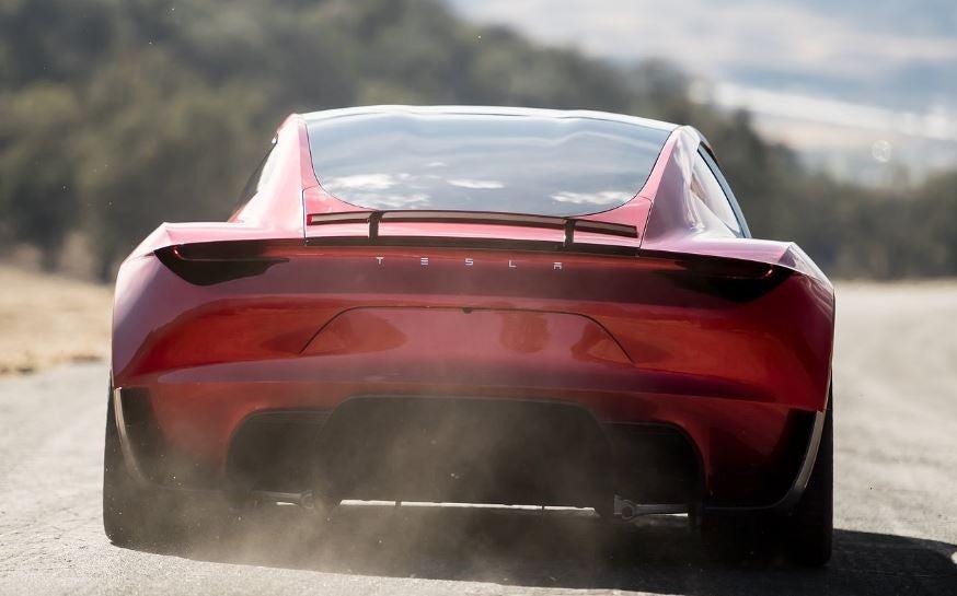 Diseño del Tesla Roadster.