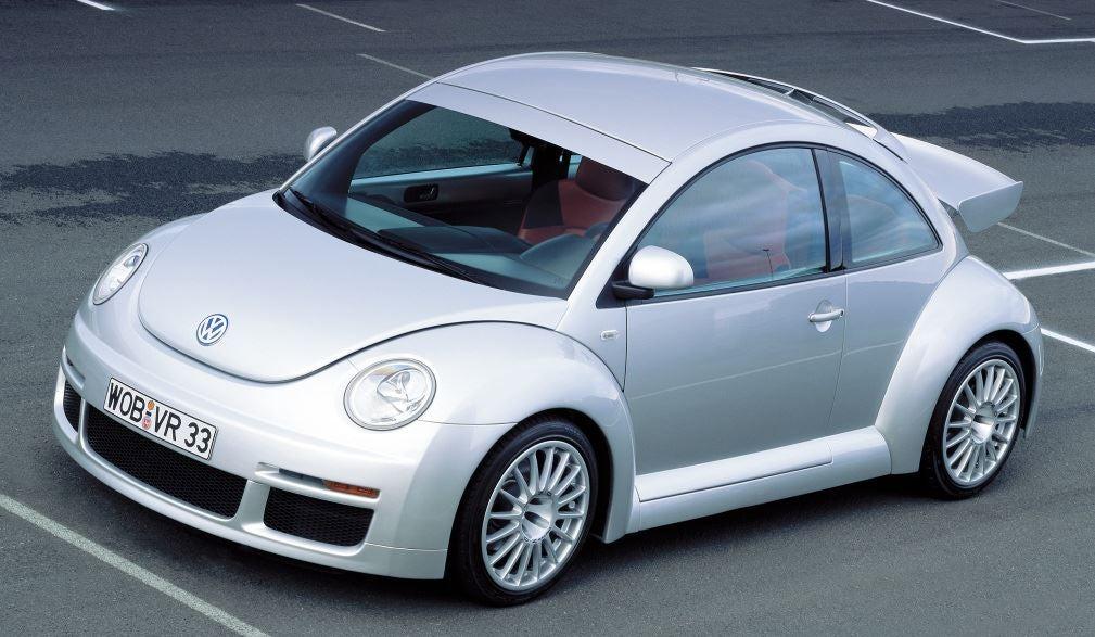 Diseño del Volkswagen Beetle RSi.