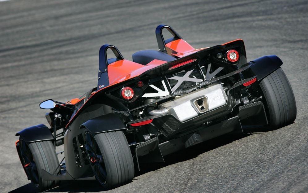 Estética del KTM X Bow.