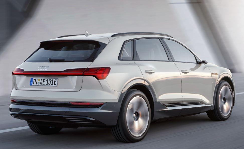 Exterior del Audi e-tron.