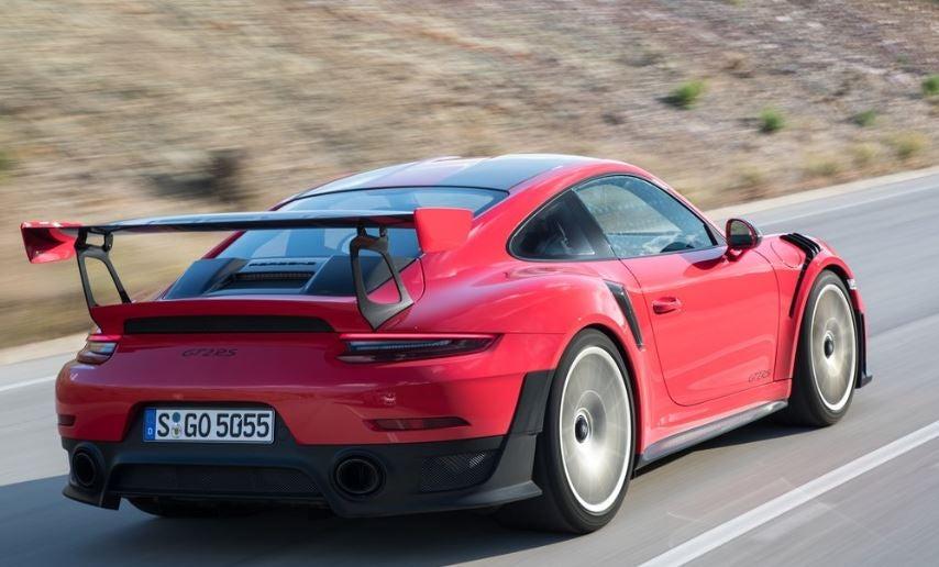 Exterior del Porsche 911 GT2 RS.