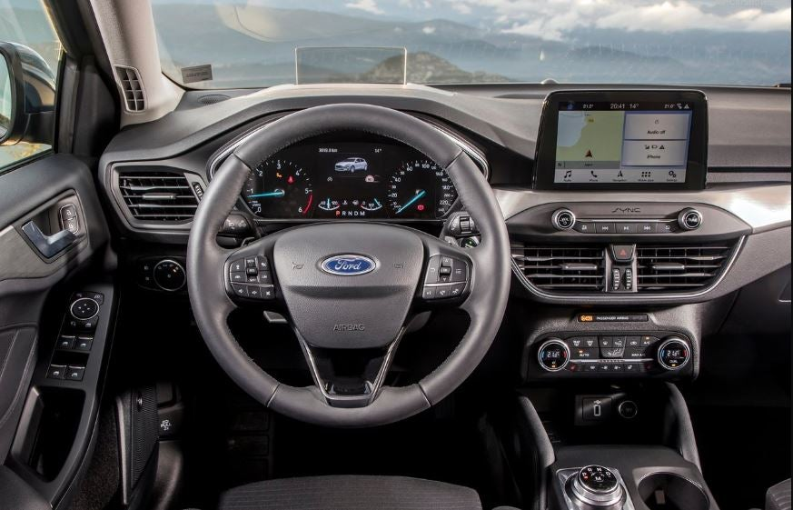Interior del Ford Focus 2018.