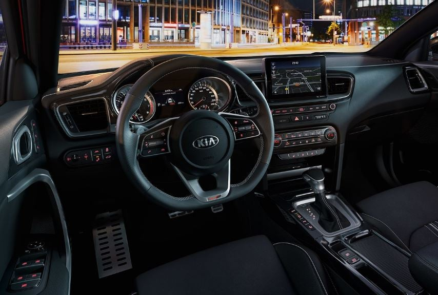 Interior del Kia Proceed.