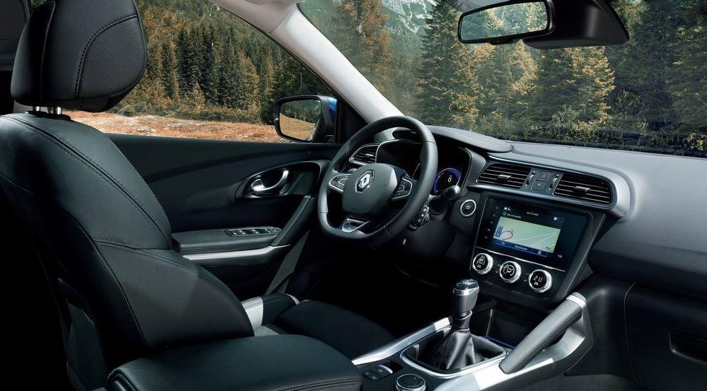 Interior del nuevo Renault Kadjar.