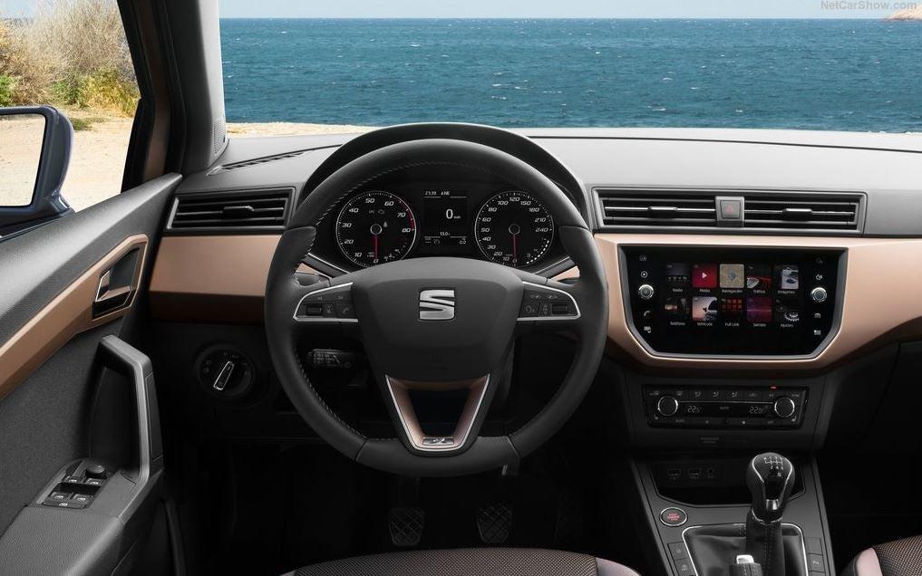 Interior del nuevo SEAT Ibiza.
