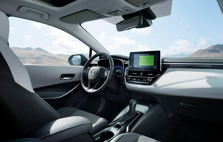 Interior del nuevo Toyota Corolla 2019.