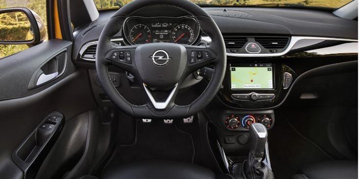 Interior Opel Corsa GSi 2018.