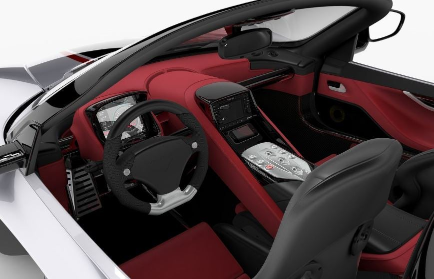 Interior del Venturi Fetish.
