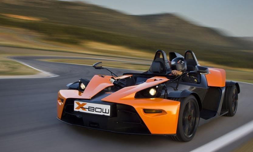 KTM X-Bow, no apto para novatos
